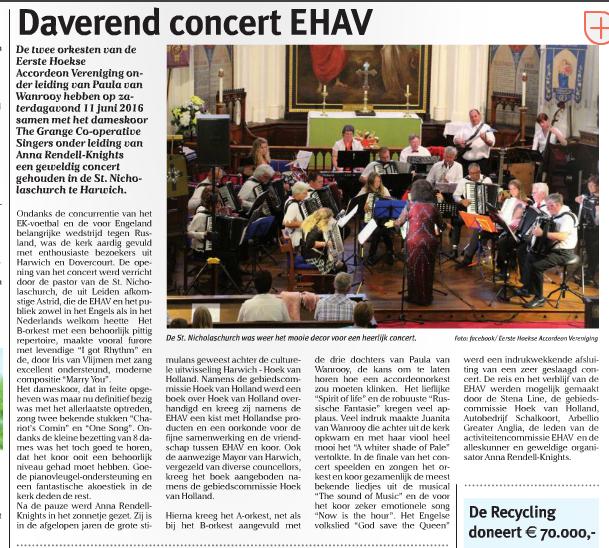 Concert Harwich